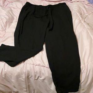 Long Black Flare Pants
